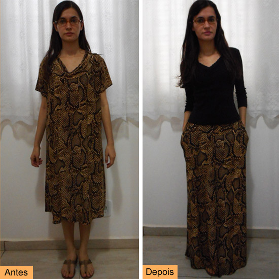 antes-depois-vestido-transformado-saia-longa