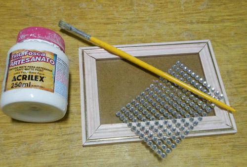 Como customizar porta-retrato